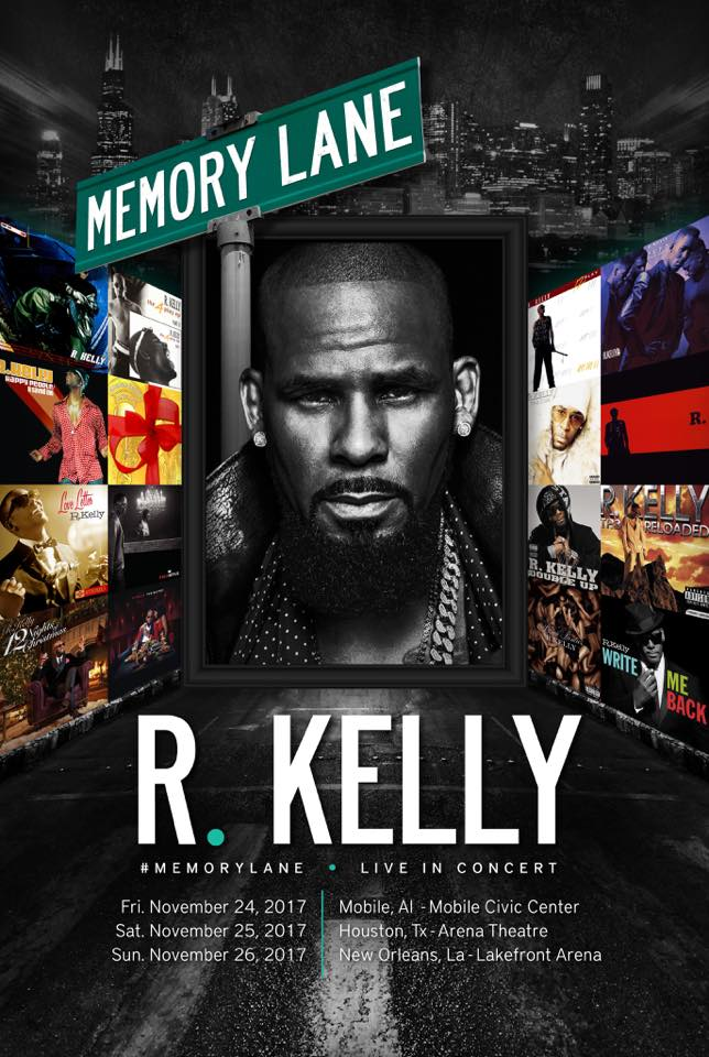 r.kelly tour memory lane, r kelly mansions robbed,