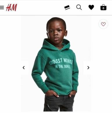 H&M racisme, HM, Jessica cade,jessica cardiny, stess magazine
